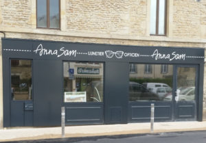 photo du magasin d'optique anna-sam à Douvres la délivrande