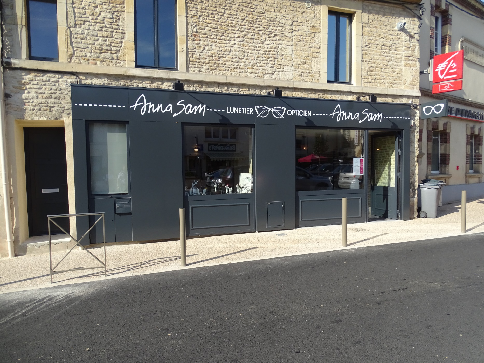 magasin d'optique Anna Sam