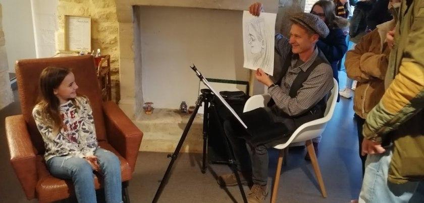 Richard Seux, caricaturiste professionnel chez Annasam