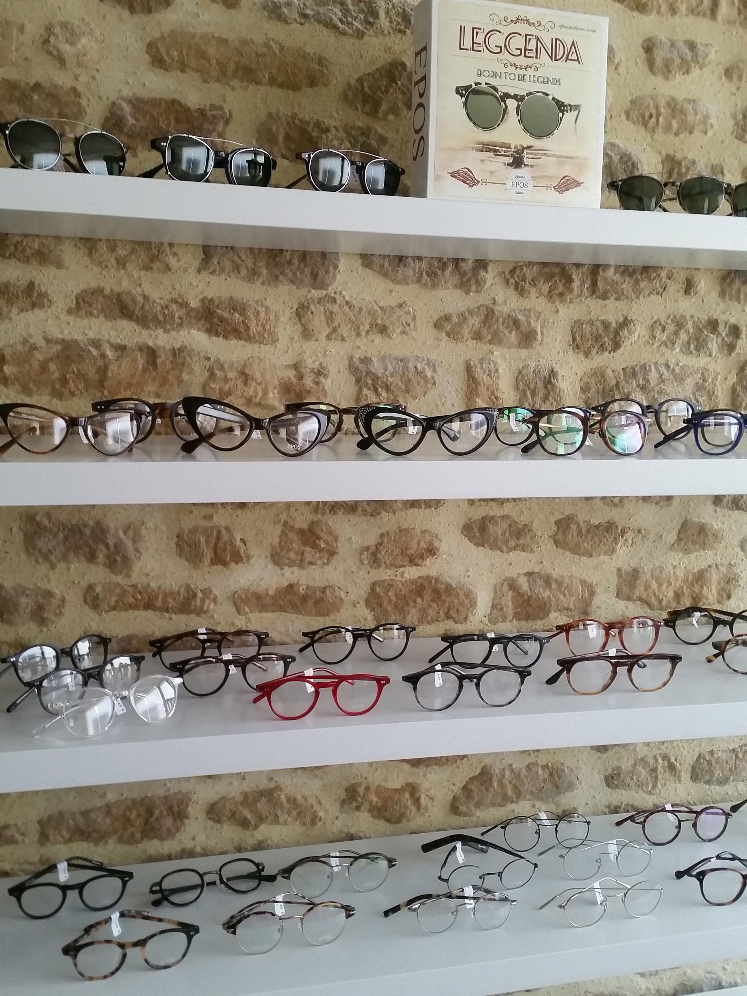 Gamme de lunettes Epos d'Anna Sam