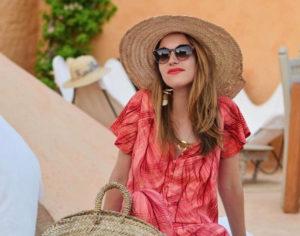 Lunettes Nathalie Blanc modèle Swann porté par Marion_joliecanaille