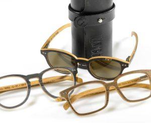 """Des lunettes en bois """"tendance"""""""