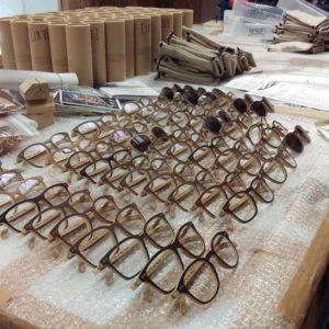 Des lunettes en bois pour tous les goûts