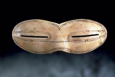 lunettes de soleil des inuits