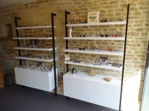 intérieur magasin optique
