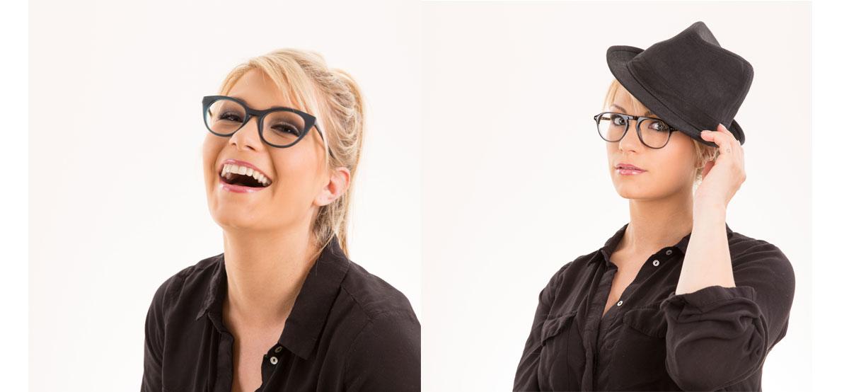 Charline porte de belles lunettes de vue annasam