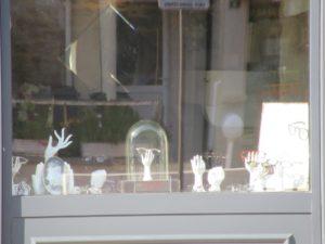 vitrine magasin optique